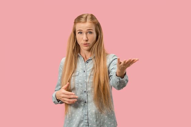 Jonge emotionele verrast vrouw Gratis Foto