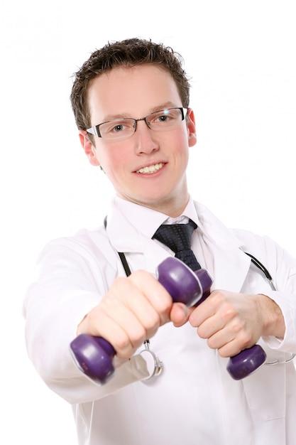 Jonge medische student Gratis Foto