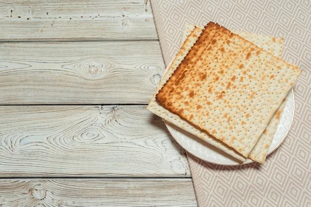 Joods traditioneel paschamatzo-brood Premium Foto