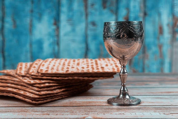 Joodse pesah viering concept joodse vakantie pascha Premium Foto
