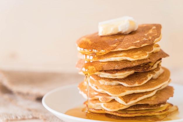 Kaas op pannenkoek met honing Gratis Foto