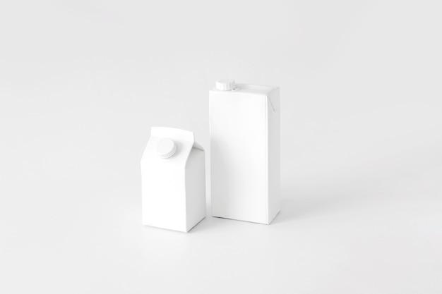 Kartonnen containers voor vloeistoffen Gratis Foto