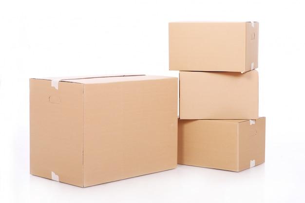 Kartonnen dozen Gratis Foto