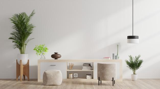 Kasten en muur voor tv in de woonkamer, Gratis Foto