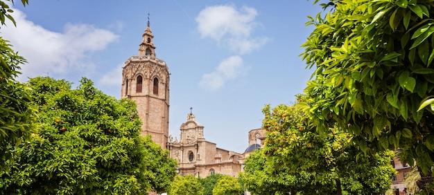 Kathedraal in valencia Premium Foto