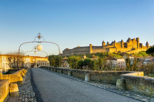 Kathedraal saint michel van carcassonne Premium Foto