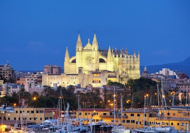 Kathedraal seu seo van palma de mallorca Premium Foto