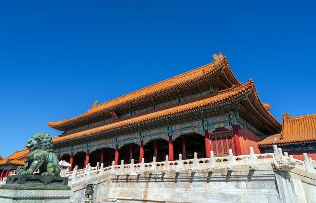 Keizerlijk paleis van peking, china Premium Foto