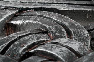 Keltische steen knopen grijs Gratis Foto