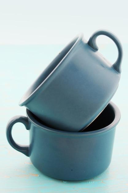 Keramische cups Premium Foto
