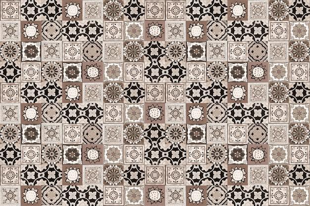 Tegels Met Patroon : Keramische tegels patronen uit portugal foto premium download