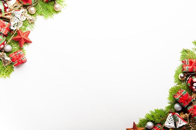 Kerst achtergrond Premium Foto