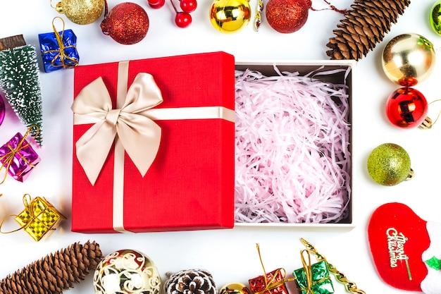 Kerst Cadeau Achtergrond Kerstmis Foto Gratis Download