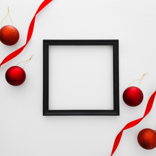 Kerst frame Gratis Foto