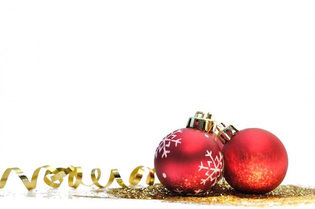 Kerst ornements Premium Foto