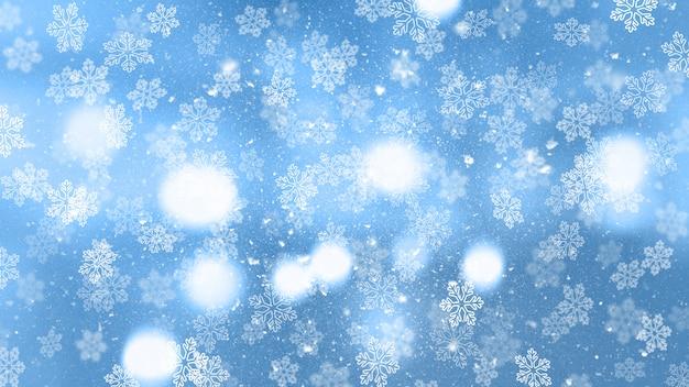 Kerst sneeuwvlokken Gratis Foto