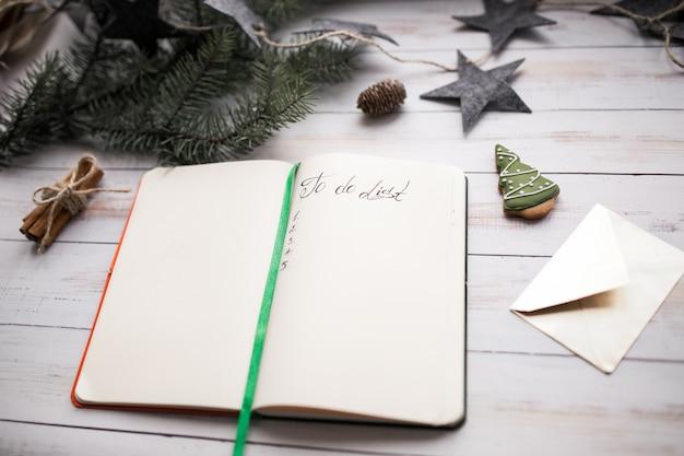 Kerst-takenlijst Gratis Foto