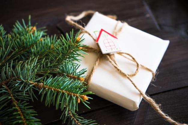 Kerst tijd concept Premium Foto