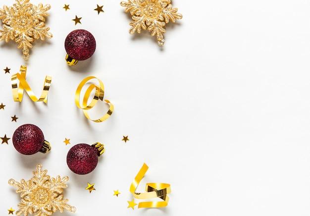 Kerst vakantie achtergrond Premium Foto