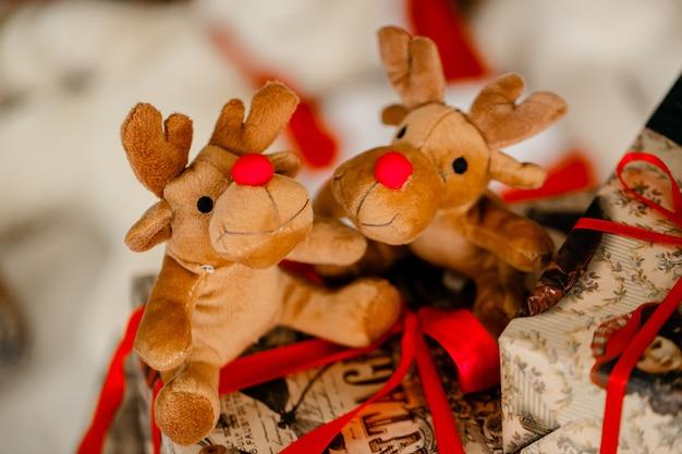Kerst vakantie decoraties Premium Foto