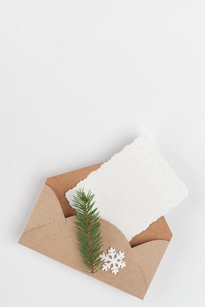 Kerst wenskaart Premium Foto