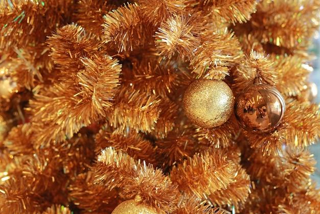 Kerstballen, nieuwjaar sieraad Premium Foto