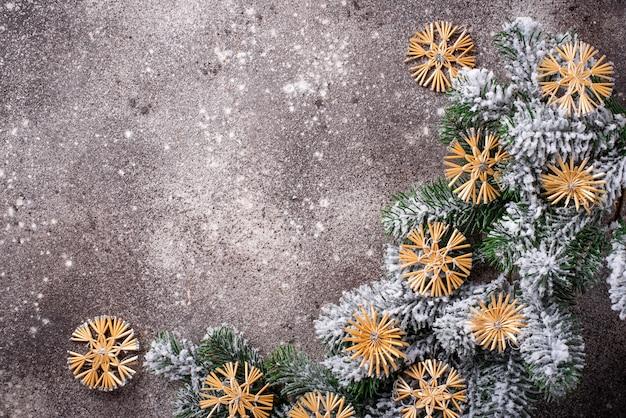 Kerstboomdecoratie Premium Foto