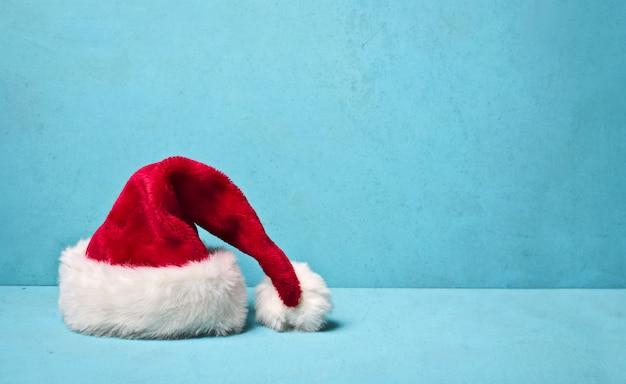 Kerstman hoed Premium Foto