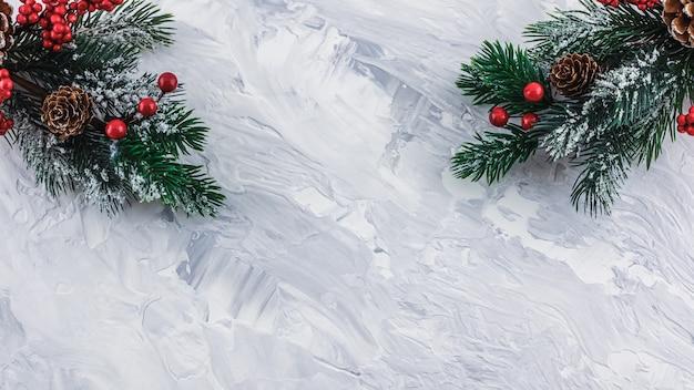 Kerstmis en nieuwjaar concept Premium Foto