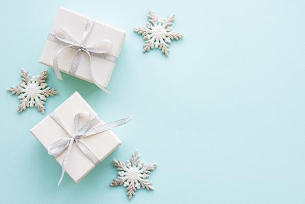 Kerstvakantie samenstelling Premium Foto