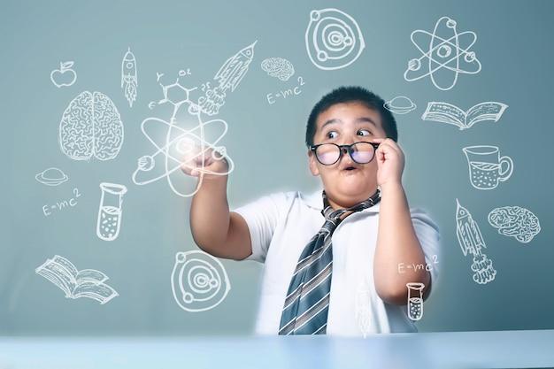 Kid's leren inspiratie Premium Foto