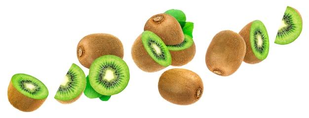 Kiwi geïsoleerd Premium Foto