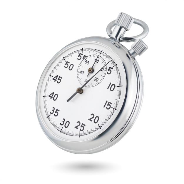 Klassieke mechanische analoge stopwatch Premium Foto