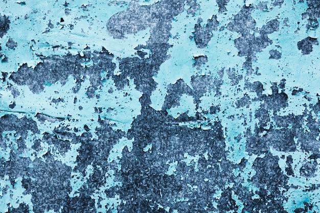 Kleurovergang blauwe muur sjabloon met kopie ruimte Gratis Foto