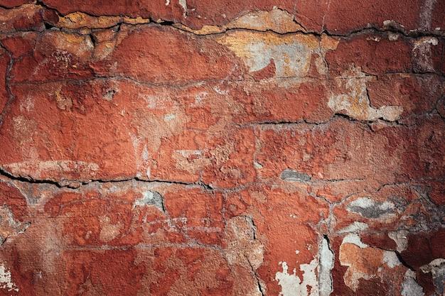 Kleurrijke bakstenen muurtextuur Premium Foto