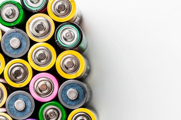 Kleurrijke batterij Gratis Foto
