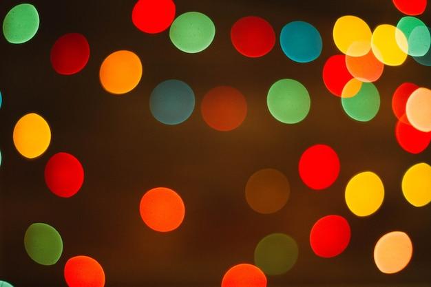 Kleurrijke kerstmis achtergrond Gratis Foto