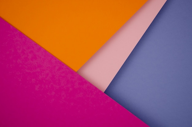 Kleurrijke minimale geometrische vormen en lijnen Gratis Foto