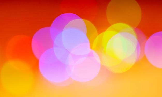 Kleurrijke onscherpe achtergrond Premium Foto