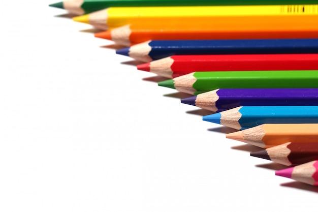 Kleurrijke potloden Gratis Foto