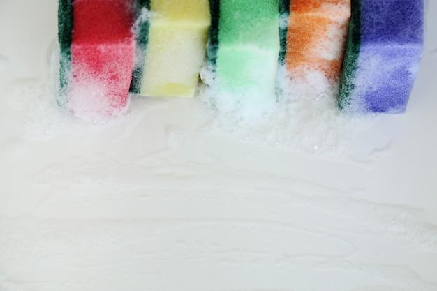 Kleurrijke sponzen Gratis Foto