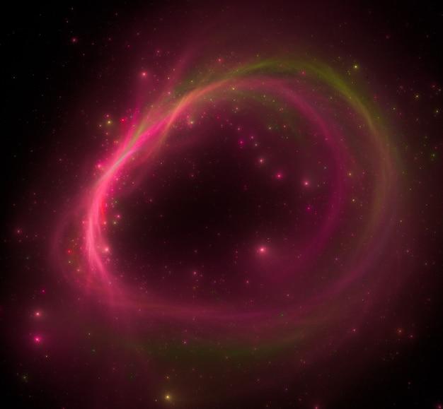 Kleurrijke ster veld achtergrond Premium Foto