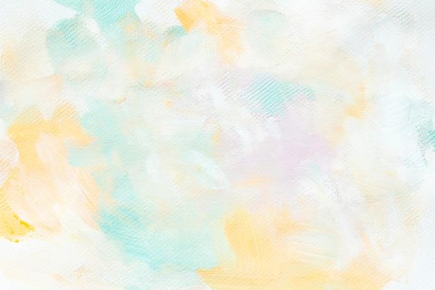 Kleurrijke verf op een canvas Gratis Foto