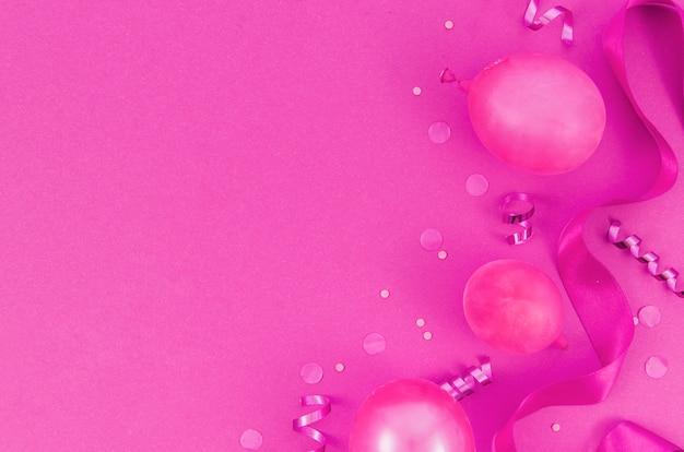 Kleurrijke verjaardagsballons Gratis Foto