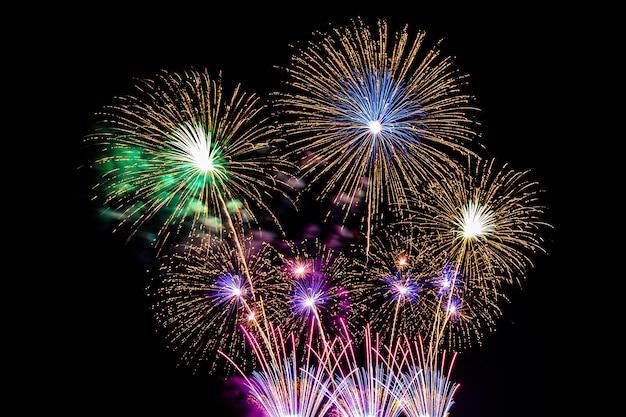 Kleurrijke vuurwerk Gratis Foto