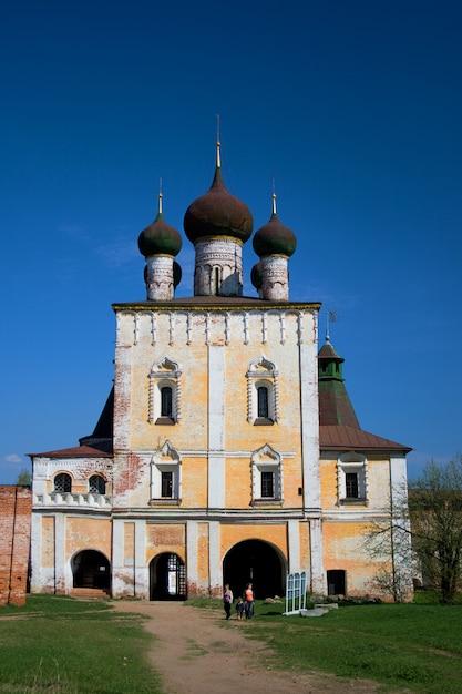 Klooster. rusland. Premium Foto