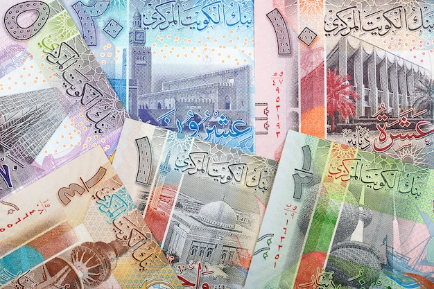 Koeweitse dinar Premium Foto