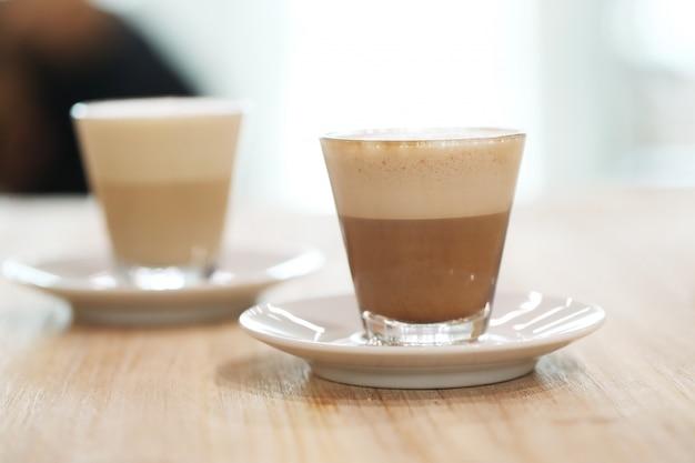 Koffie in glazen Gratis Foto