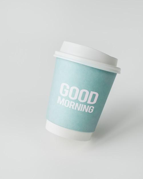 Koffiekopje mockup Premium Foto