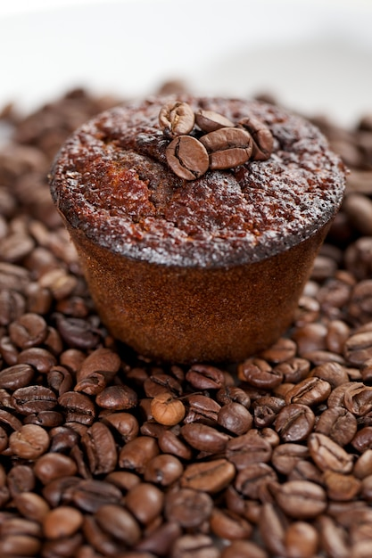 Koffiesmaakmuffins Premium Foto